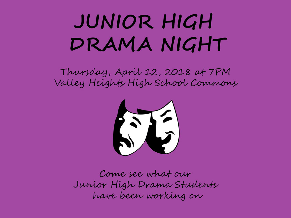 JUNIOR HIGH DRAMA NIGHT