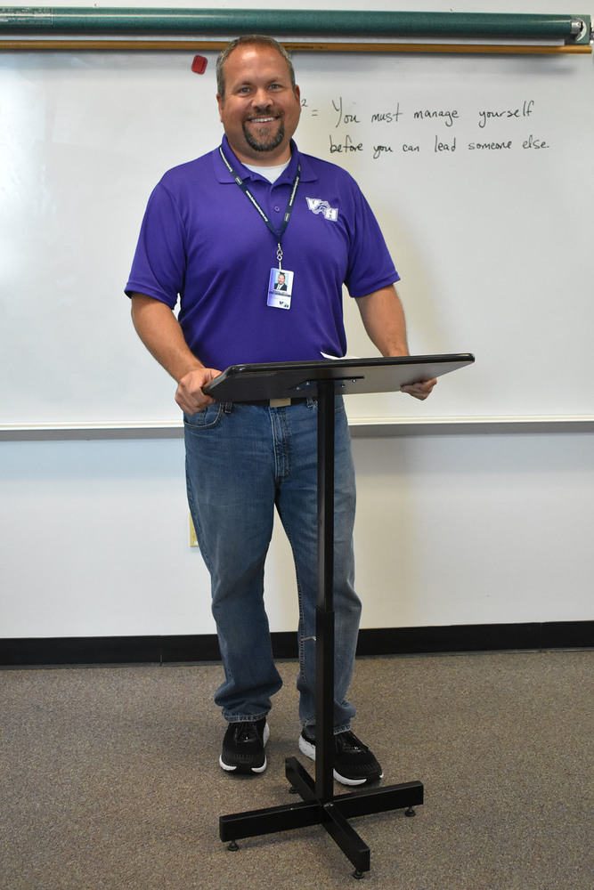 STAFF SPOTLIGHT: IN TOUCH WITH MR. SMITH