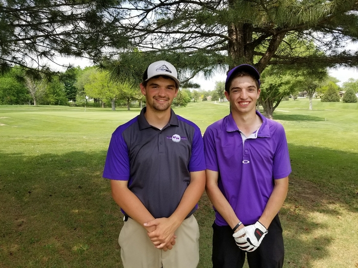 Congrats to Bryan Yungeberg and Brady Trimble  on qualifying for the 2A State Golf Tournament