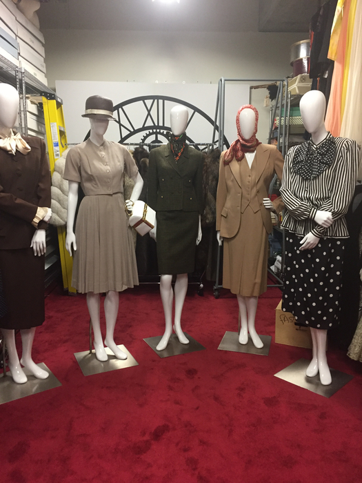 Historical Fashion Library on Campus