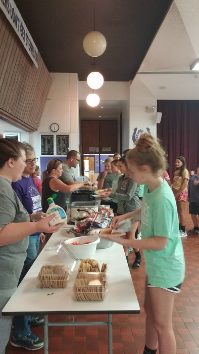 FCA food and fellowship