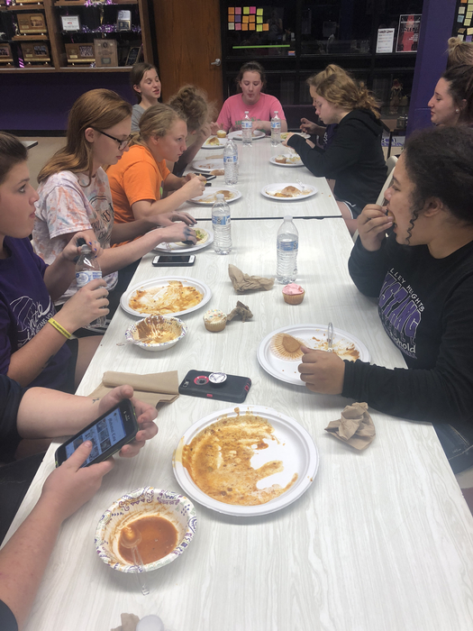 Volleyball Team Dinner