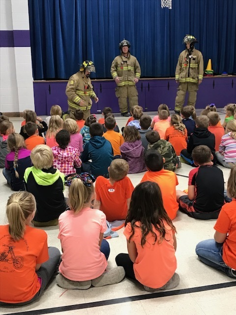 Fire Department visits Waterville Elementary