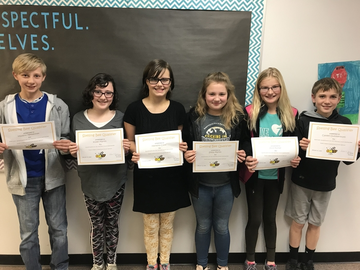 Valley Heights Spelling Bee Qualifiers