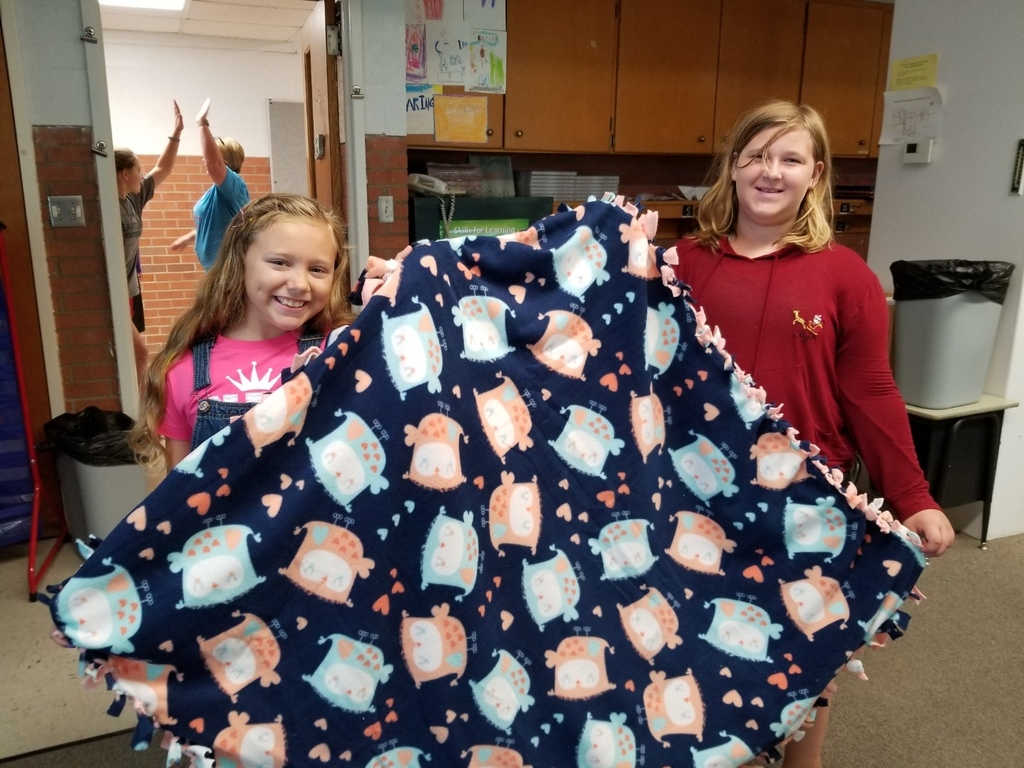 One of the Blankets we made in camp!