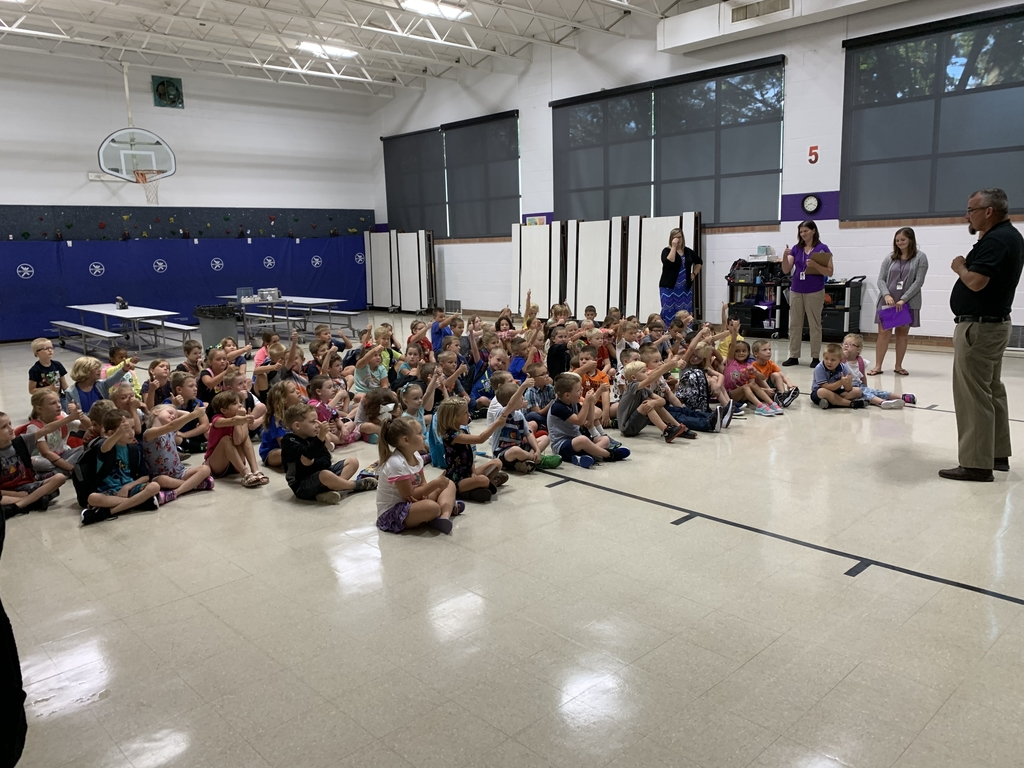 Waterville Elementary first day of school!