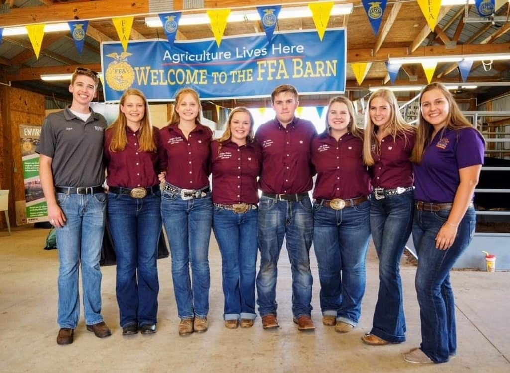 NED FFA officers