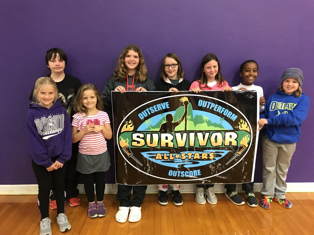 Blue Rapids Shout-Out Winners for the first quarter were chosen for going above and beyond in the classroom.
