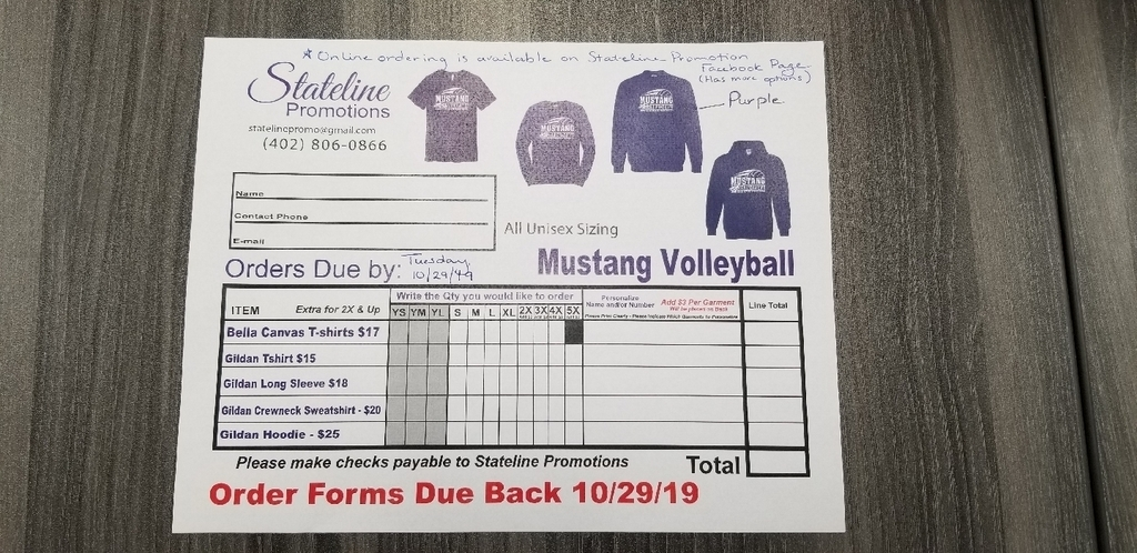 State Volleyball Shirts