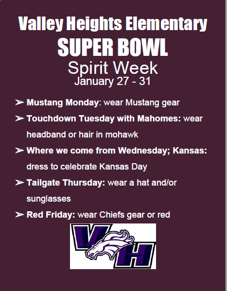 Super Bowl Spirit Week